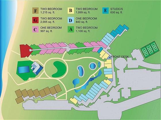 Kaanapali Shores2 on Ocean Club Condos Floor Plan