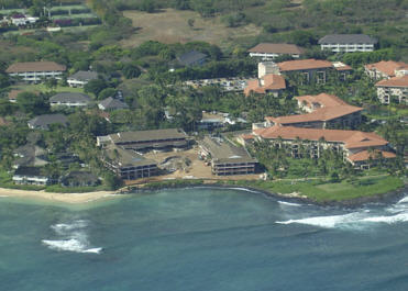 the koa kea hotel resort on poipu beach is a new opened in 2009 upscale 121 room luxury hotel in kauai offering the most beautiful and romantic